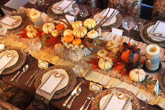 styledevent.com | Set A New Tradition by Setting Your Thanksgiving Table