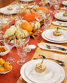 Martha Stewart & styledevent.com | Set A New Tradition by Setting Your Thanksgiving Table