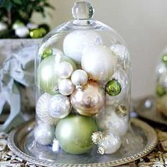 holiday decor ornaments