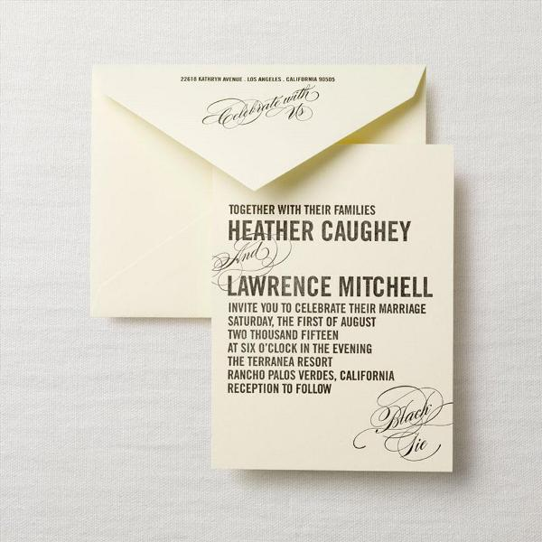 What Information Do You Put On Wedding Invitations - Wedding ...