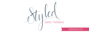 styled events and invitations logo