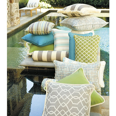 styledevent com patio party ballard designs pillows corded outdoor pillows ballard designs