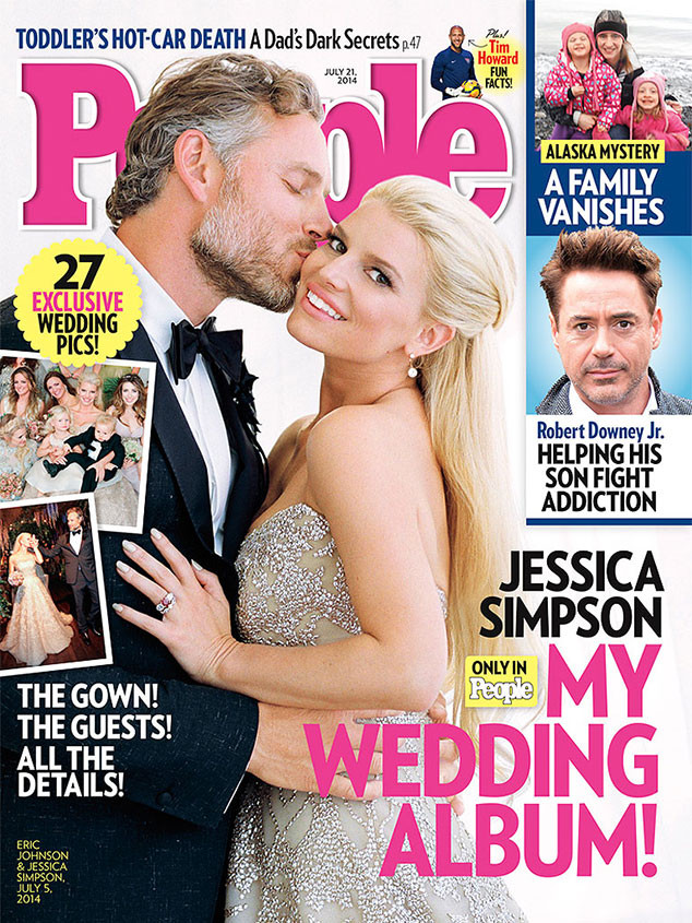 jessica simpson wedding people cover