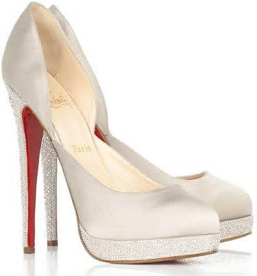 bridal shoe 4 louboutin