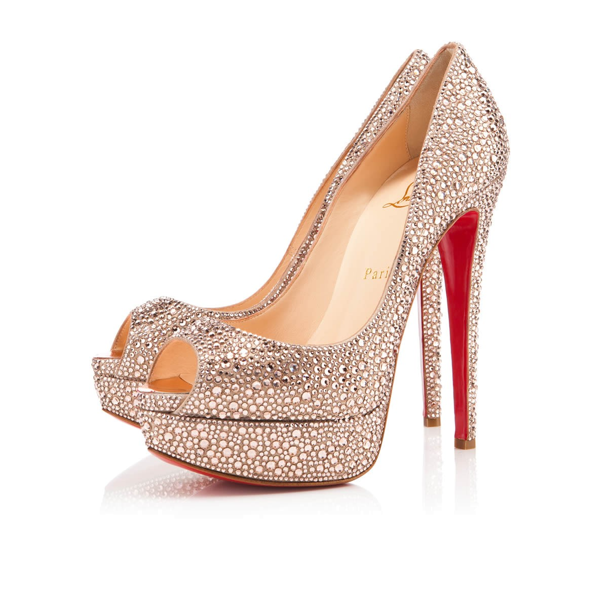 bridal shoe 6 louboutin