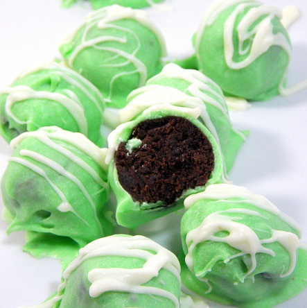Girl scout thin mint truffle